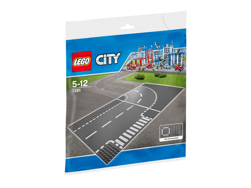 LEGO CITY -  T-JUNCTION & CURVES