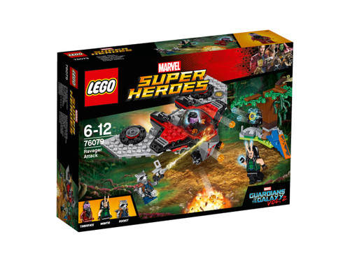LEGO SUPER HEROES - RAVAGER ATTACK