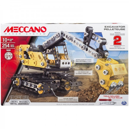 MECCANO ENGINEERING CONSTRUCTION DIGGER