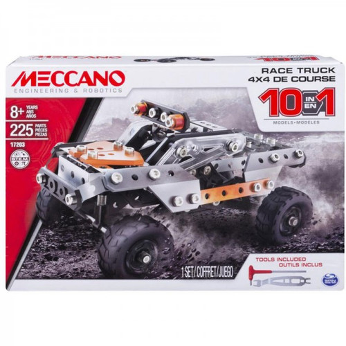 MECCANO ENGINEERING MULTI 10 MODEL SET - TRUCK