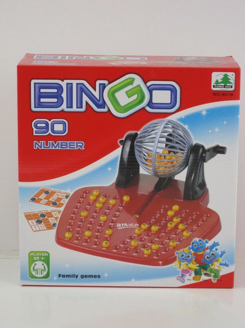 BINGO LOTTO BARREL GAME