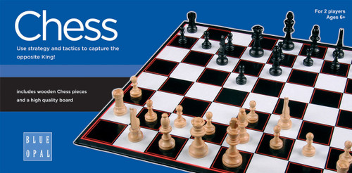 BLUE OPAL  CHESS GAME
