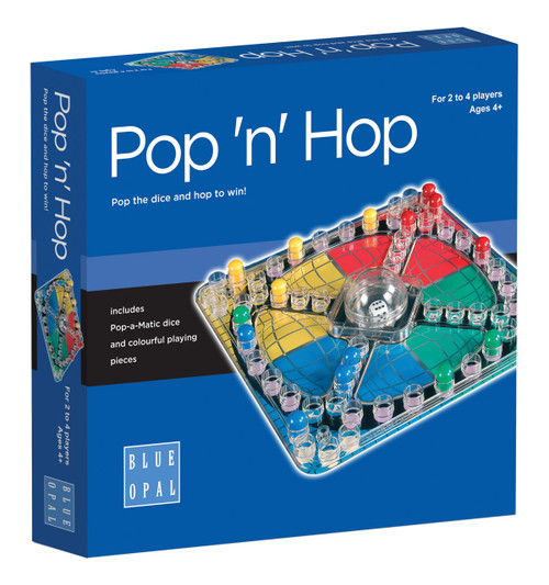 BLUE OPAL  POP N HOP GAME