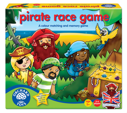 ORCHARD TOYS - PIRATE RACE GAM