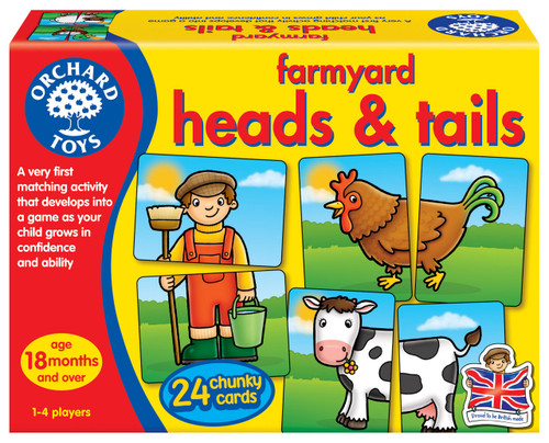 ORCHARD GAME - FARMYARD HEADS AND TAILS