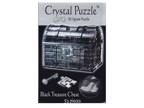 3D BLACK TREASURE CRYSTAL PUZZLE