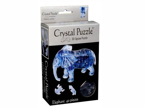 3D ELEPHANT CRYSTAL PUZZLE