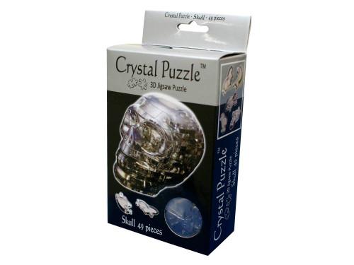 3D BLACK SKULL CRYSTAL PUZZLE