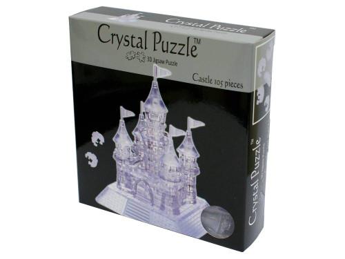 3D CASTLE CRYSTAL PUZZLE