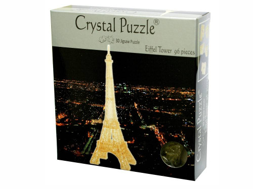 3D GOLD EIFFEL TOWER PUZZLE