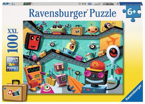 RAVENSBURG - ROBOTS PUZZLE 100 PCE