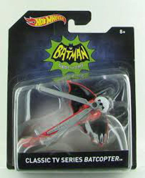 HW 1:50 BATMAN VEHICLE - CLASSIC TV SERIES BATCOPTER