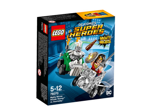LEGO SUPER HEROES - MIGHTY MICROS WONDER WOMAN VS DOOMSDAY