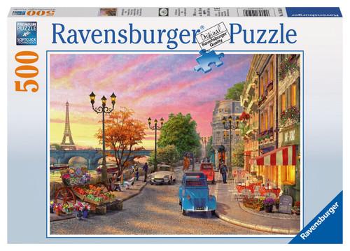 RAVENSBURGER - A PARIS EVENING PUZZLE 500PCE