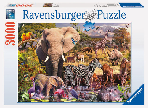 RAVENSBURGER - AFRICAN ANIMAL WORLD PUZZLE 3000PC