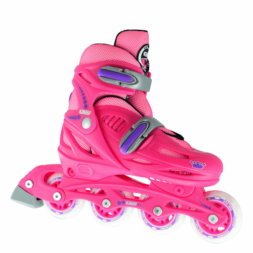 148 INLINE SKATES - PINK  SMALL 30-33
