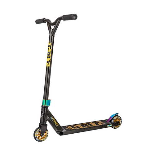 GRIT EXTREMIST SCOOTER - BLACK / GOLD METALLIC