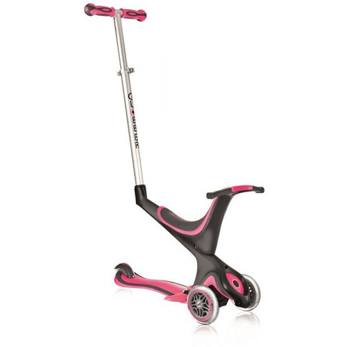 GLOBBER 5 IN 1 SCOOTER - PINK