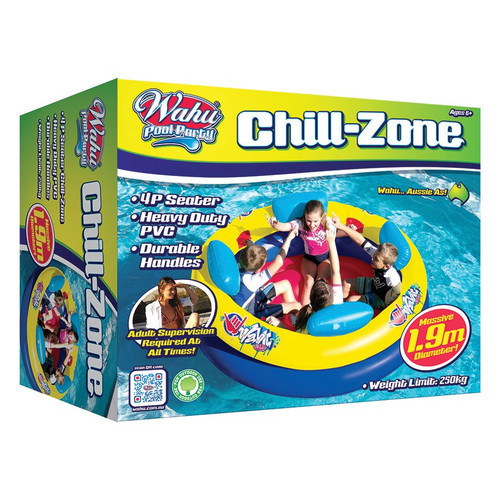 WAHU POOL PARTY : THE CHILL-ZONE