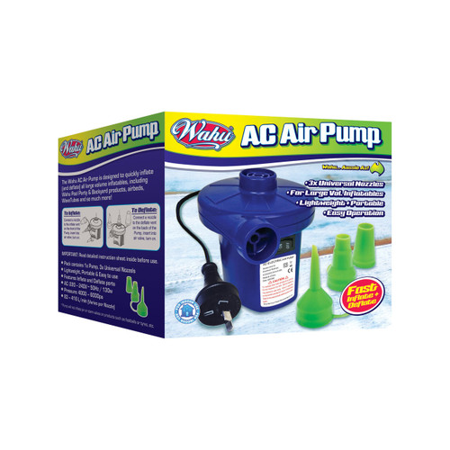 WAHU POOL PARTY : ELECTRIC AIR PUMP