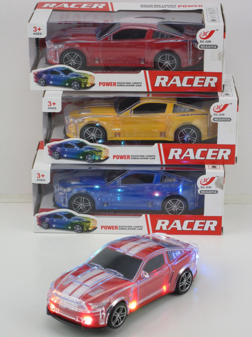 GT RACING SPORTS SALOON RC BLUE