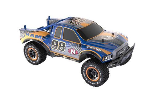 NIKKO 1:14 DODGE RAM REBEL 2.4 GIG 9.6