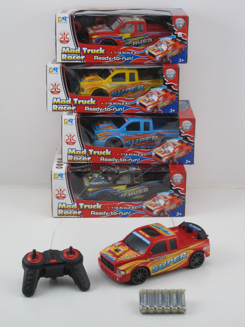 MAD TRUCK RACING - YELLOW 27MHZ