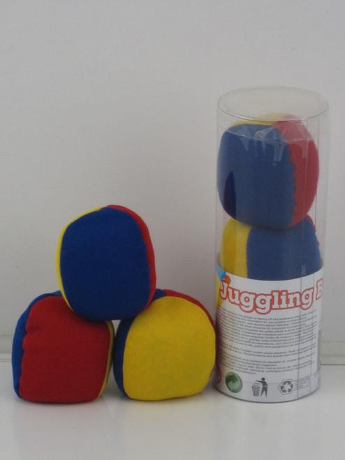 JUGGLING BALLS 3 PACK - MULTI COLOUR