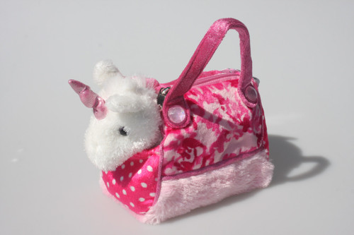 UNICORN IN PINK CAMO BAG