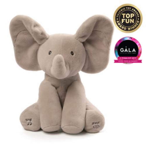 FLAPPY ELEPHANT ANIMATED PLUSH