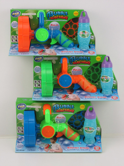 FAN BLASTER BUBBLE MACHINE