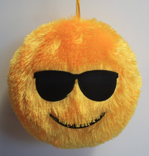 FUZZY BALL YELLOW SHADES