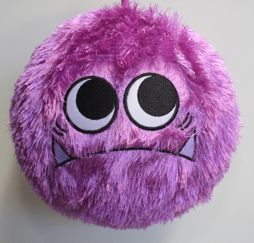 FUZZY BALL PURPLE MONSTER