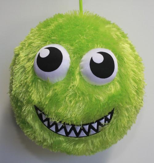 FUZZY BALL GREEN SMILES
