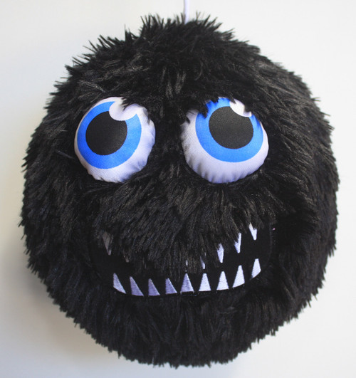 FUZZY BALL BLACK GROWL