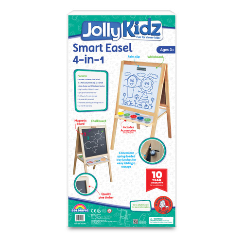 JOLLY KIDZ SMART EASEL - 4 IN 1