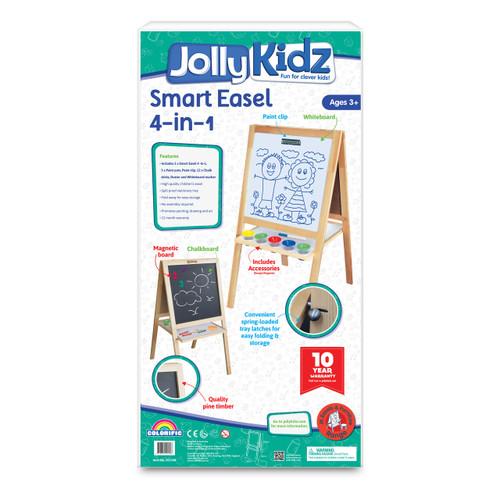 JOLLY KIDZ SMART EASEL - 4 IN