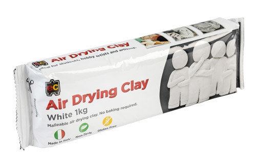 AIR DRYING CLAY - WHITE