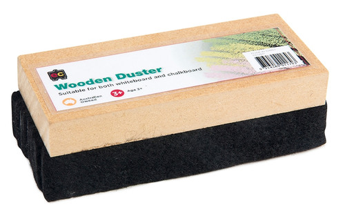 BLACKBOARD DUSTER WOODEN