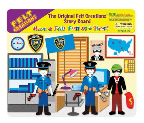 FELT CREATIONS - POLICE STATIO