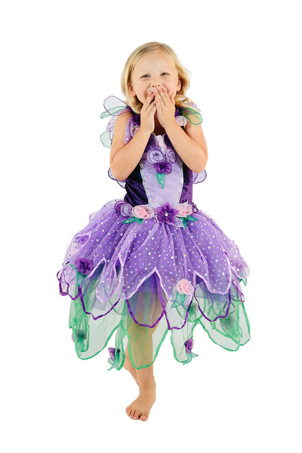 BLOOM FAIRY DRESS PURPLE SMALL