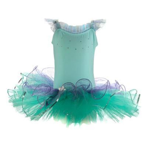 DANCING STAR TUTU SIZE 5/6 - MINT
