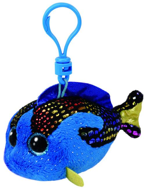 BEANIE BOOS CLIP ONS AQUA BLUE FISH