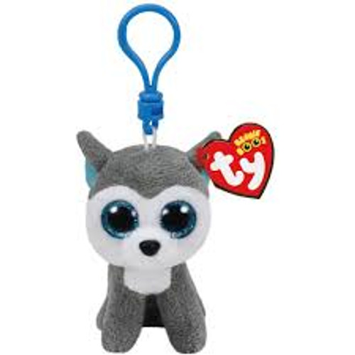 BEANIE BOOS CLIP ONS SLUSH THE DOG