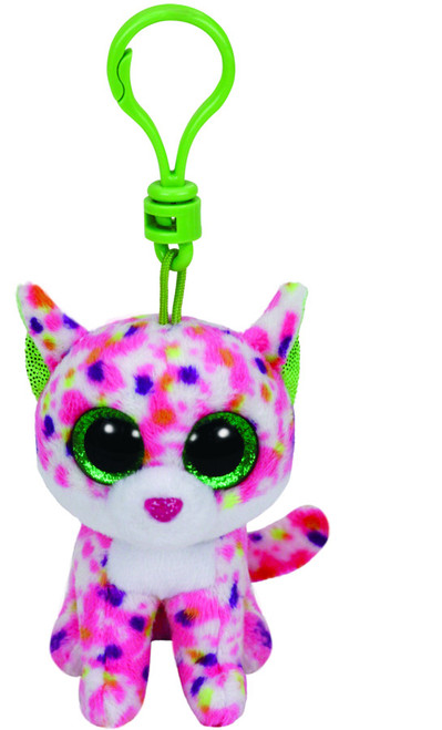 BEANIE BOOS CLIP ONS SOPHIE THE PINK CAT