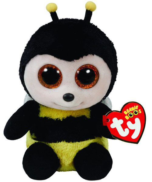 BEANIE BOOS REGULAR - BUZBY YELLOW BEE
