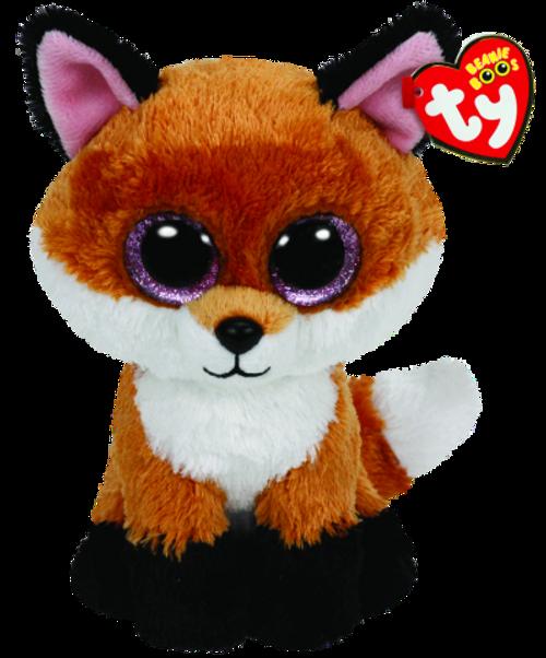 BEANIE BOOS MEDIUM - SLICK THE FOX