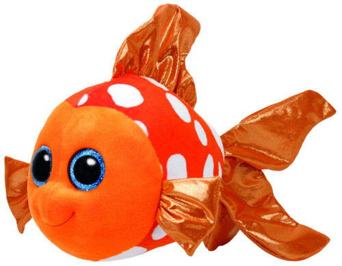 BEANIE BOOS MEDIUM - SAMI ORANGE FISH