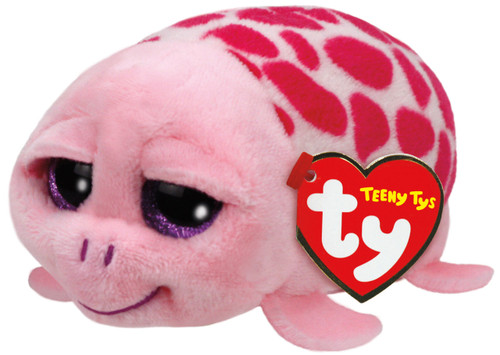 TEENY TYS SHUFFLER THE PINK TURTLE