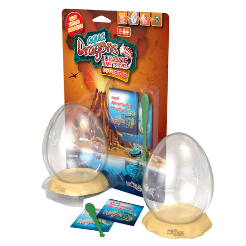 AQUA DRAGONS - JURASSIC EGGSPRESS BLISTER